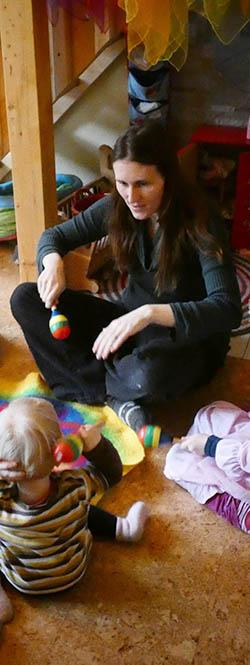 Daniela Rienecker, Tagesmutter