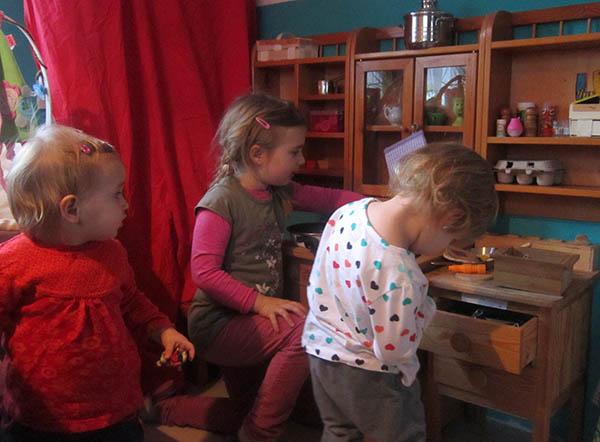 Kinderküche in der Zwergenstube Güntersleben